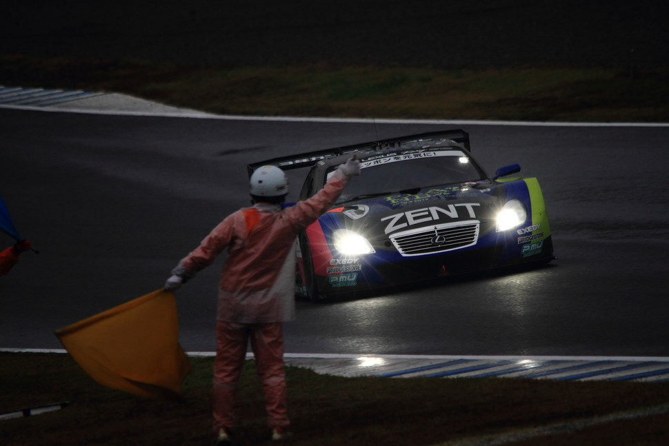 2012 SUPER GT ROUND8 GT500 WINNER