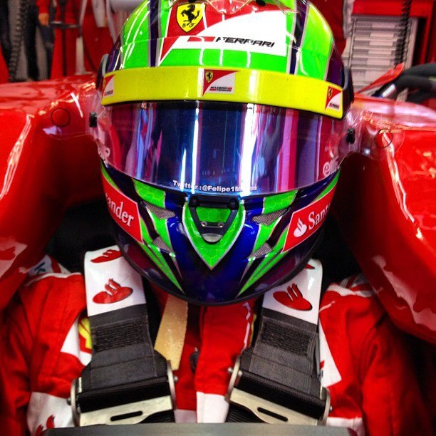 Felipe Massa Helmet