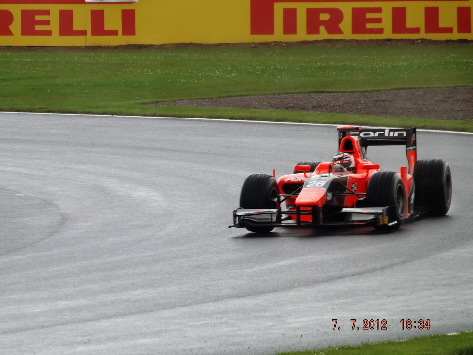 Max Chilton Marussia Carlin GP2