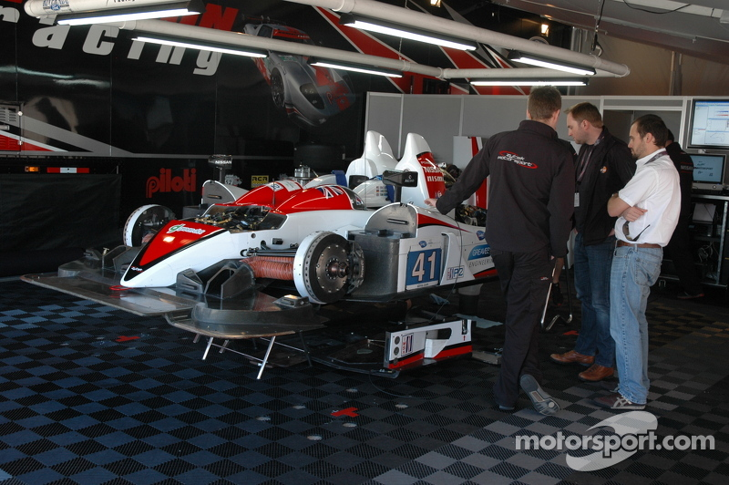 Greaves Racing Prototype in the paddock