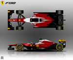 Ferrari F138 alternative livery