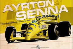 Ayrton Senna - F1 1987