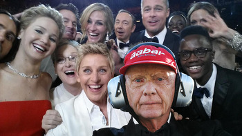 No Rush at the Oscars? No problem for Niki...