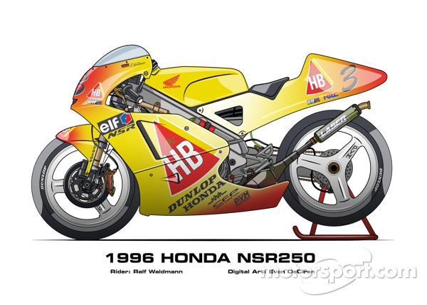 Honda NSR250 - 1996 Ralf Waldmann