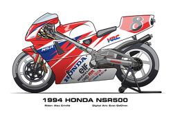 Honda NSR500 - 1994 Alex Criville