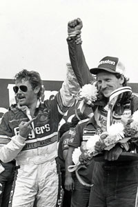 Tim Richmond with Dale Earnhardt