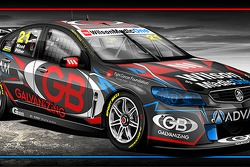 nickmossdesign.com - 2014 Team ADVAM/GB V8SC Dale Wood / Chris Pither Livery Design