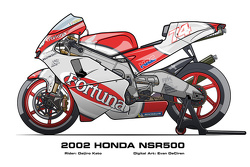 Honda NSR500 - 2002 Daijiro Kato
