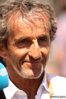 Alain Prost, co-founder E.DAMS Renault Team