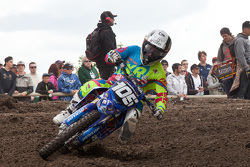 Yamaha rider Jimmy Decotis  #105 opens up a substantial lead in the MX2 class
