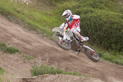 Honda SmarTop/Moto Concepts Vince Friese #12 was flying all day to take MX1 1st place overall