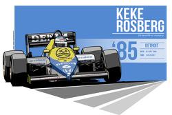 Keke Rosberg - 1985 Detroit