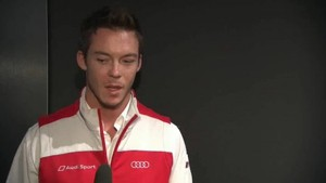Audi Le Mans Victory - Interview Lotterer