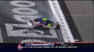Martin Hits Wall Hard - Bristol Motor Speedway 2011