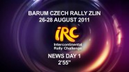 IRC Czech Rally - Day 1