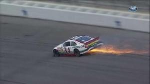 Gilliland Has Hard Hit - Texas Motor Speedway 2011