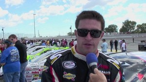 2010 ARCA Kansas - Hassert Interview