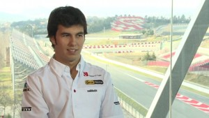 Sergio Pérez, interview and background
