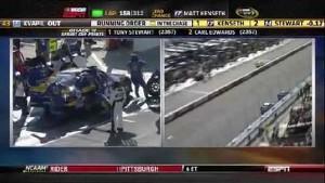 Bodine Loses A Tire - Phoenix International Raceway 2011