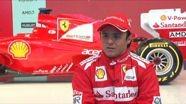 Scuderia Ferrari - F2012 - Interview with Felipe Massa