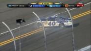 Waltrip Crashes With 8 To Go - Gatorade Duel 1 - Daytona - 02/23/2012