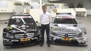 DTM Mercedes AMG C-Coupe presented by D. Coulthard