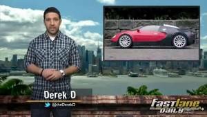 Infiniti Emerg-E, Lotus, Paper Bugatti Veyron, 662hp Mustang, & COW!