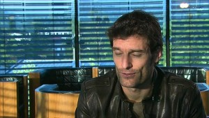 Red Bull Racing Team in Salzburg 2012: Interviews Webber
