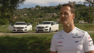 Schumacher, Rosberg and the German National Football Team - Feature