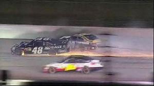 Big Wreck During Restart - Atlanta - 09/02/2012
