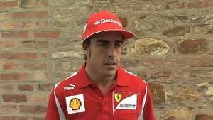 Scuderia Ferrari 2012 - Italian GP Preview - Fernando Alonso