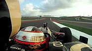 First Lotus F1 Lap at Circuit of the Americas with commentary by D'Ambrosio