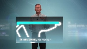 2012 Formula 1 Grand Prix of Abu Dhabi - Pirelli 3D Simulation