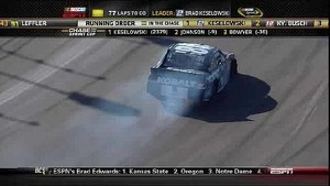 Jimmie Johnson Hits the Wall