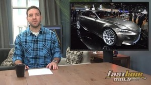 2015 Lexus LF-CC, New VW Styling, Batmobile Auction, Tuesday Drift, & a Moron!
