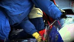 2013 - WEC - Silverstone - Extrication test