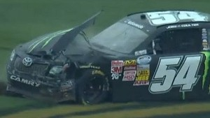 Joey Coulter crashes at Talladega!