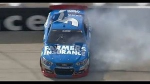 NASCAR Kasey Kahne Wrecks at Dover 2013
