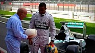 Lewis meets Sir Stirling Moss