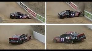 Tony Stewart CRASHES Denny Hamlin | Sonoma, 2013