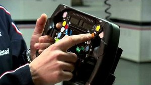 Car features with Valtteri #BOTTAS - Part 5 of 5 - Steering wheel