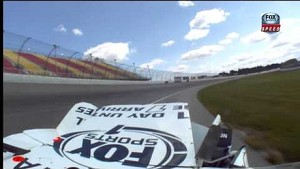 NASCAR Joey Coulter wreck | Michigan International Speedway (2013)