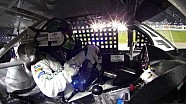 NASCAR in-car camera | Matt Kenseth takes the lead at Chicagoland