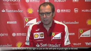 Abu Dhabi Grand Prix - Stefano Domenicali, about race