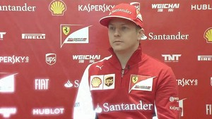 F14 T - Interview with Kimi Raikkonen