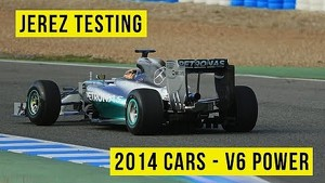 F1 Testing 2014: Jerez - Day 1