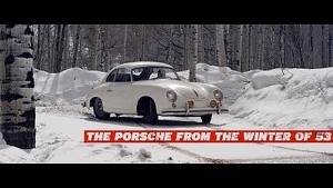The Porsche from the Winter of 53