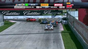 PWC 2014 Highlights of GT/GT-A/GTS Round 6 at Belle Isle Detroit