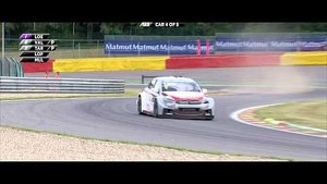 Citroën drivers tame the Raidillon! - WTCC 2014
