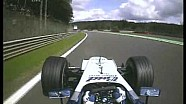 F1 Spa 2004 - Juan Pablo Montoya Ragged Action!
